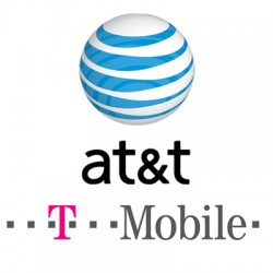 Justin Gross AT&T T-Mobile Logo
